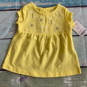 ⭐️4/$20⭐️Carters Butterfly Top 🦋